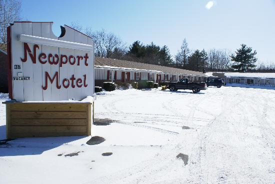 Newport Motel: Winter Wonderland