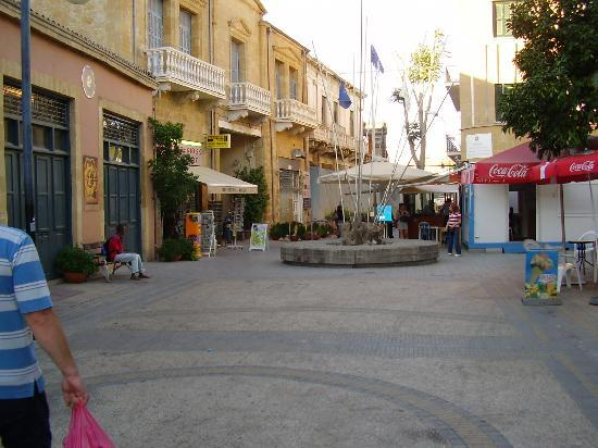 Border point in Nicosia