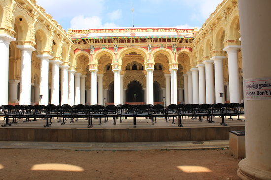 Madurai, India: Thirumalai Naiker Palace