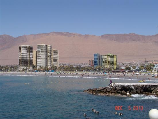 Iquique, Chile: Playa Cavanche