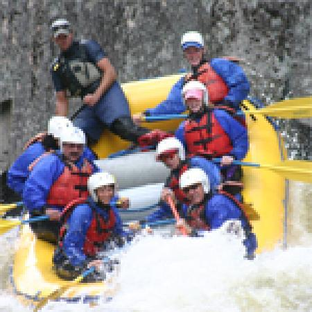 Penobscot River Rafting in the