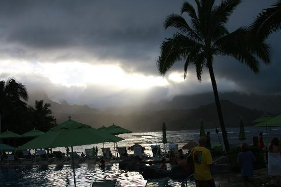 St. Regis Princeville Resort: Crazy change in climates