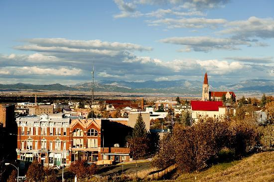 View overlooking Helena, Montana