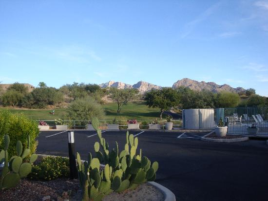 The Golf Villas at Oro Valley: view from villa