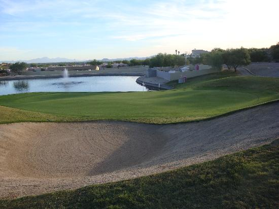 The Golf Villas at Oro Valley: golf course