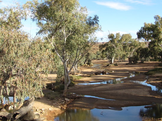 Alice Springs, Australie : Todd River