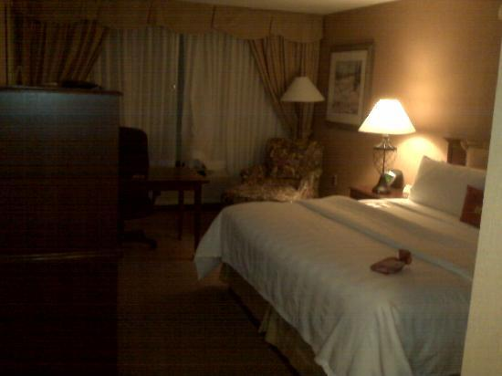 Crowne Plaza Greenville: Room upon entrance...