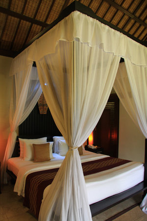 The Ulin Villas & Spa: Bedroom of One Bedroom Villa