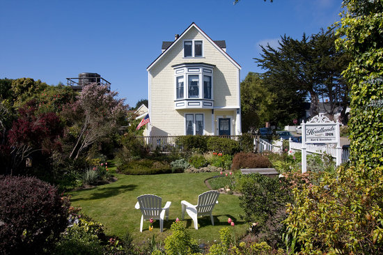 Headlands Inn Bed &amp; Breakfast: Headlands Inn, Mendocino, Ca.