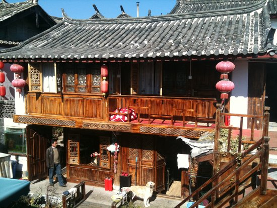 Gucheng 92 Tavern : view from my 2nd floor room