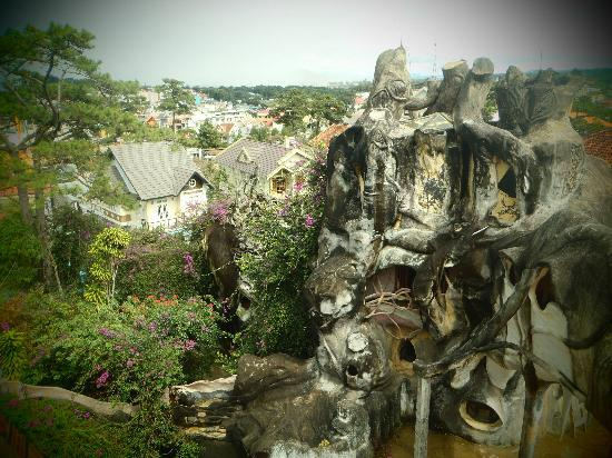 Dalat, Vietnam: the crazy house