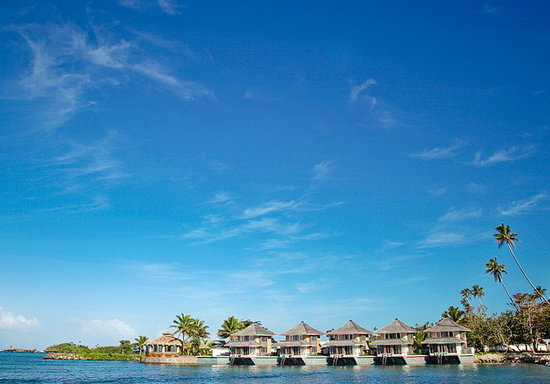Koro Sun Resort and Rainforest Spa: Edgewater Villas, one of Fiji's only overwater resorts!
