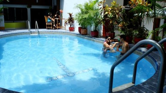 Amazon Apart Hotel: Swimming pool