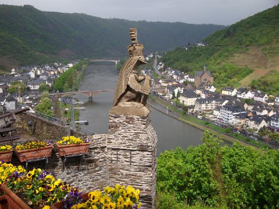 View from the Cochem Castle