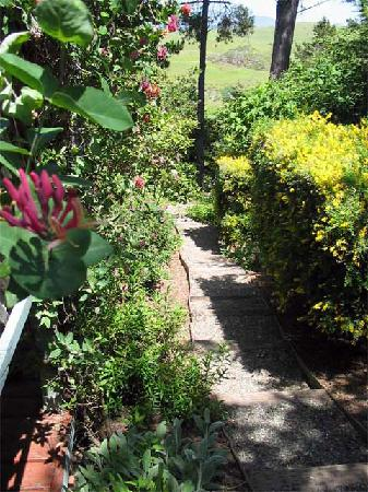 Her Castle Homestay Bed and Breakfast Inn: Pathway to Lower Garden