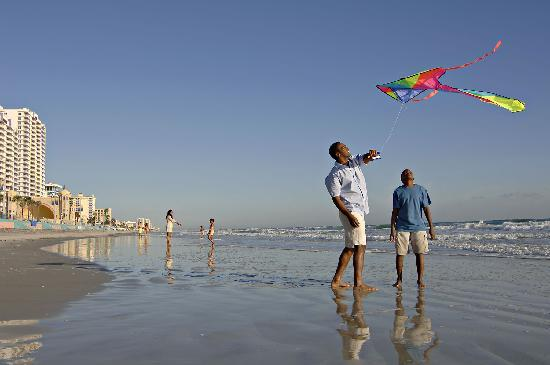 , : A great beach for kite flying