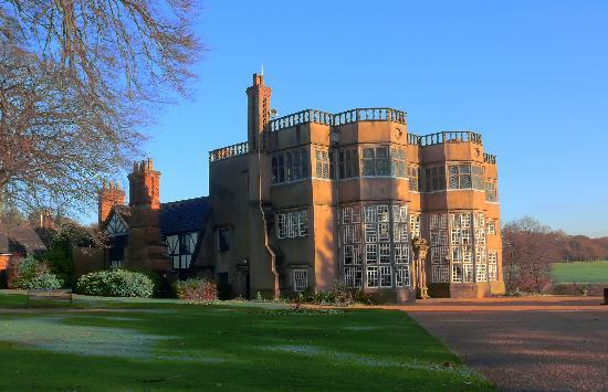 Chorley, UK: Rear view-Astley hall - 2010