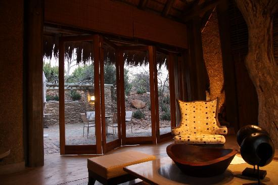 Kapama River Lodge: Zona comedor