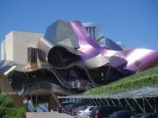 Laguardia, Espagne : Marque de riscal 