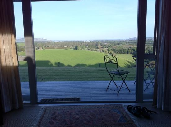 Sugarloaf Lodge: view from the room