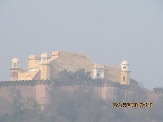Alwar, India: A Kanakwari fort palace