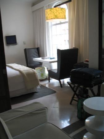 Condesa DF: our room and adjoining sitting room