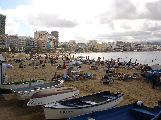 Las Palmas de Gran Canaria, Spain: Las Canteras nyrsdagen