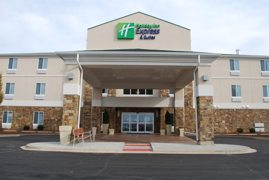 Holiday Inn Express Hotels And Suites Pekin: Welcoming View