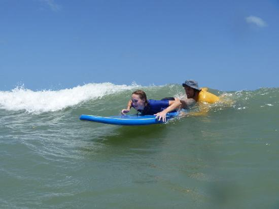 Surf Camp Pipa: surf instructur