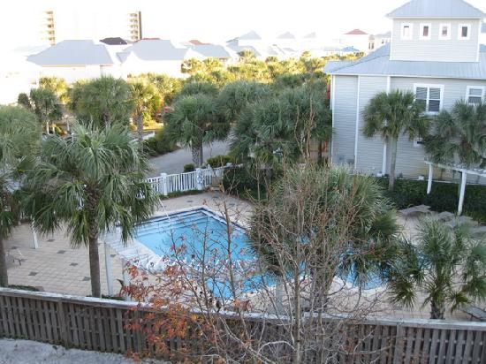 Scenic Gulf Inn & Suites: view on rentals below