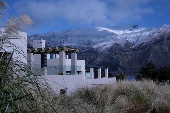 Tiritiri Lodge in Winter