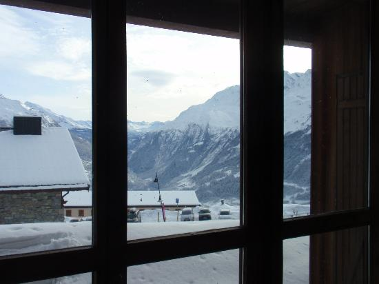 Les Balcons de la Rosiere: view from app