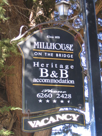 Millhouse on the Bridge