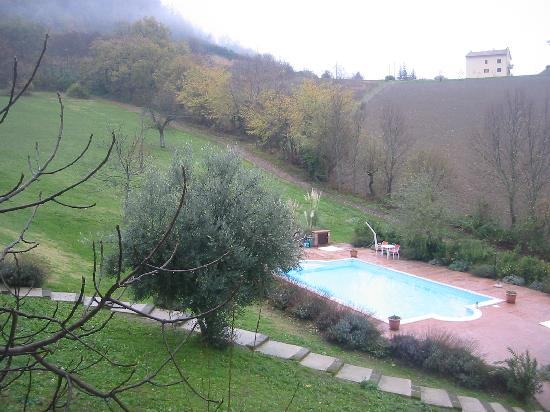 Shambala Country House & Spa: La piscina nella natura