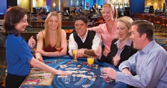 Lake Tahoe (Nevada), NV: Gaming at MontBleu Resort Casino & Spa