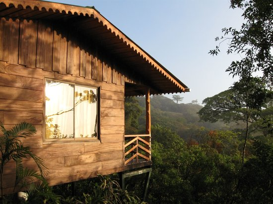 Cabinas Capulin are set in a beautiful natural setting