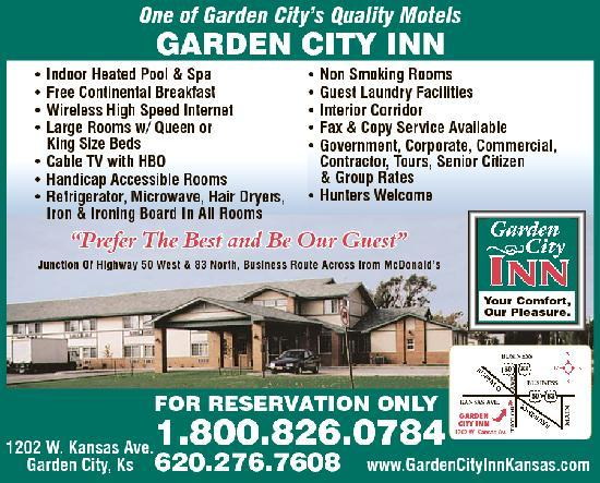 Bed and Breakfast i Garden City