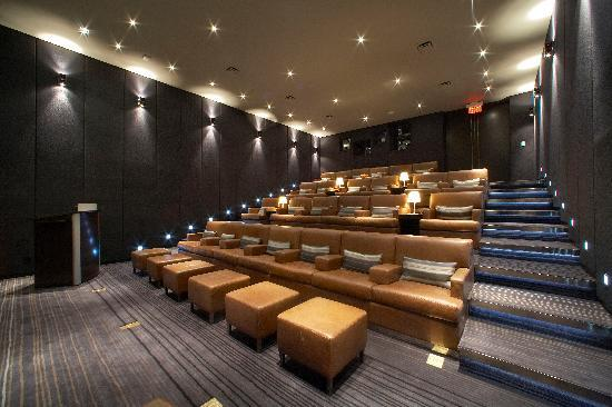 The Hazelton Hotel: Private Theatre seating up to 25 people
