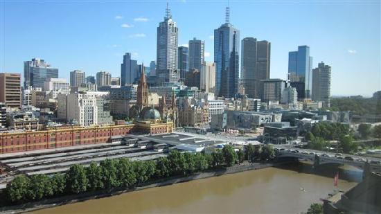 The Langham, Melbourne: View from 2129