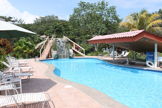 Crocodile Bay Resort: Pool and Bar