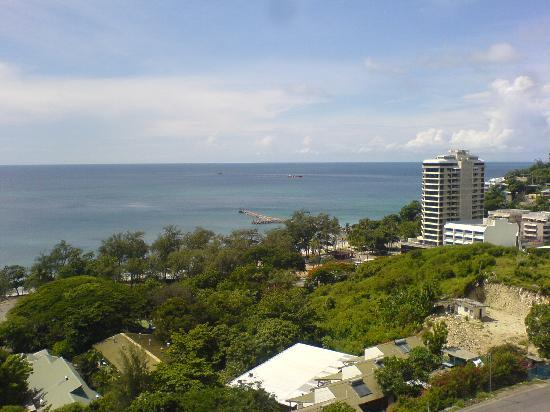 Port Moresby,    : View from Crowne Plaza