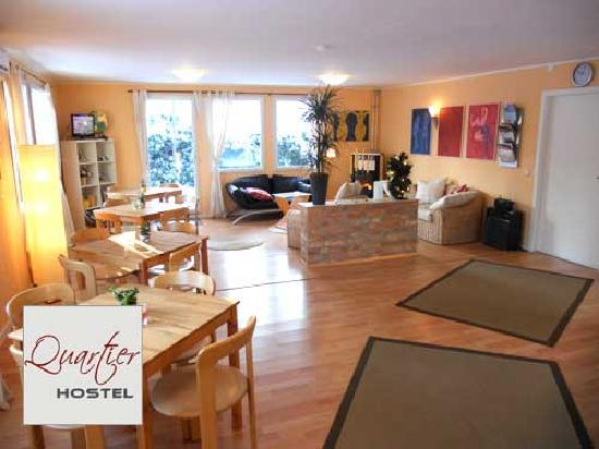 Quartier Potsdam Hostel: Rezeption und Frhstcksraum