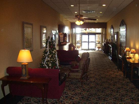 Quality Inn Shenandoah Valley: Lobby
