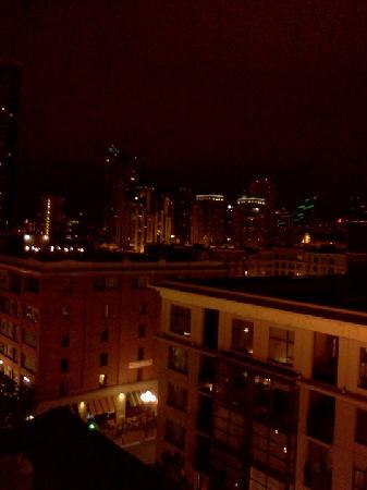Hard Rock Hotel San Diego: The view from our balcony!