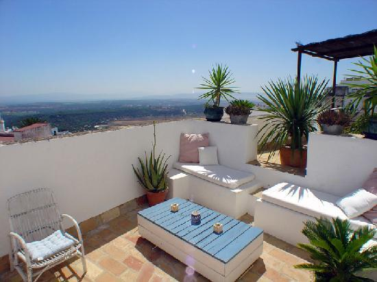 Vejer de la Frontera, Spain: One of the private terraces