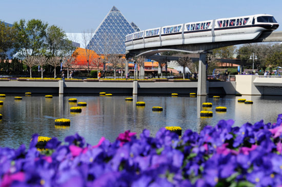Disney World, : Epcot Theme Park, Disney