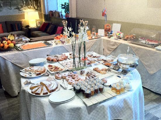 Hotel Le Corderie: La colazione!!!