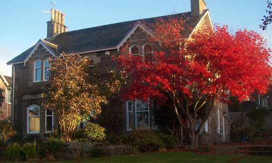 Belmont Victorian House in Autumn