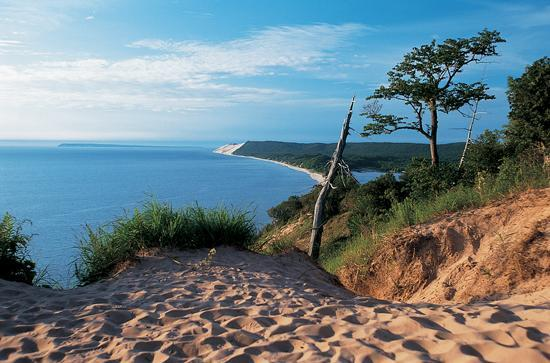 Sleeping Bear Dunes near Traverse City