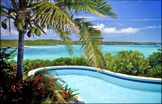 Fowl Cay Resort: Hill House Pool